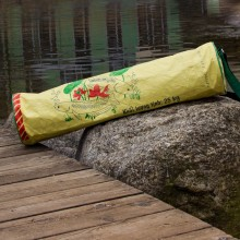 Upcycling Yoga Mat Bag – Yellow Fish
