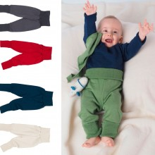 Baby Waistband Trouser made of organic terrycloth, Reiff