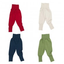 Baby Waistband Trouser Terrycloth of Organic Wool/Silk by Reiff