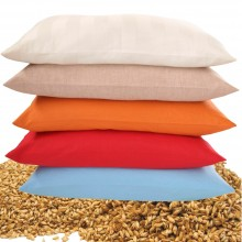 Neck Pillow with Organic Spelt Husks, optional with Natural Rubber