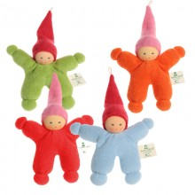 Dwarf – Eco Grasping Toy of Organic Terrycloth and Wool