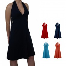 Halter-neck Dress Marilyn Monroe Style made of Organic Jersey