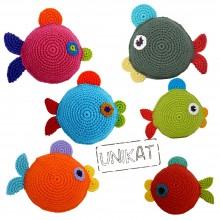 Crocheted Eco Dog Toy FISH