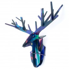 Tinker Toy Totem Enchanted Deer by studio ROOF