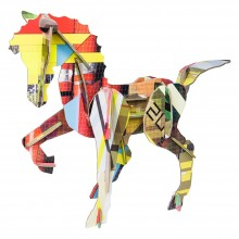 Tinker Toy Totem HORSE by studio ROOF