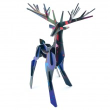 Tinker Toy Totem Big Stag by studio ROOF