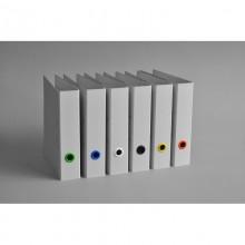 Grey A4 Raw Cardboard Folder of recycled cardboard