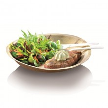 Eco Disposable Palm Leaf Plate Round naturesse®
