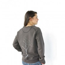 Weltenbirke – Sweatshirt – Pullover in Vintage Look