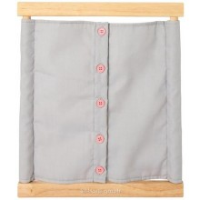 Montessori Dressing Frame with Small Buttons