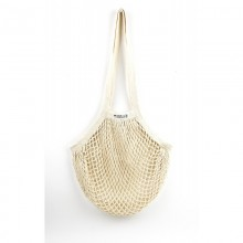 String Bag with long handles made of Organic Cotton
