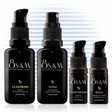 8SAM Travel Kit Mild Rich – Care Set No9 for Face & Skin