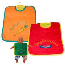 Jumbo Bib with Velcro® Closure in different variants by ASMi®