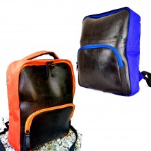 "Rozer Backpack – Laptop 15"" Upcycling Backpack made of recycled rubber"