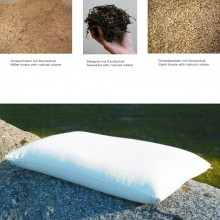 Organic Pillow with natural filling, special size 50x70 cm