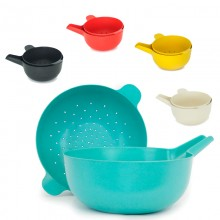 Pronto 2-part Small Handy Bowl & Colander Set with Bamboo
