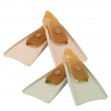 Hevea Swim Fins of Natural Rubber for kids, mottled