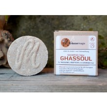 Solid Shampoo Thaler Ghassoul – vegan hair wash for all hair types