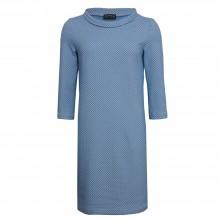 Organic Jacquard Shift Dress in the style of the sixties, light-blue, billbillundbill