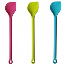 Coloured Cooking Spoon with Peak made of Bioplastic Set of 3
