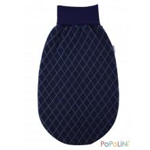 Popolini Romper Bag Montreal Diamond Quilt made of Organic Cotton
