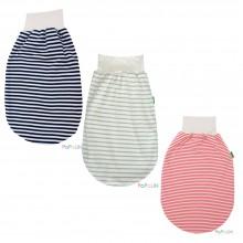 Eco Romper Bag Summer – Interlock Organic Cotton, striped, Popolini