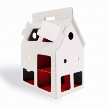 Cardboard House - Doll House MOBIL HOME by studio ROOF