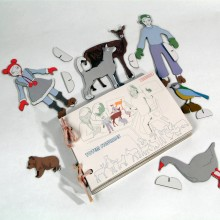 Cardboard FIGURES by studio ROOF – Role Play Toy