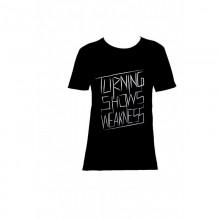 Organic Men T-Shirt Turning Shows Weakness