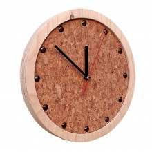 TOCK Wall Clock from sustainable materials