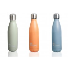Made Sustained Stainless Steel Bottle in Matted Look 500 ml