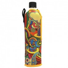 Dora Glass Bottle with Neoprene Sleeve FANTASY