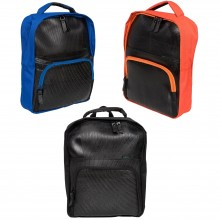 """Rozer Backpack – Laptop 15"""" Upcycling Backpack made of recycled rubber"""