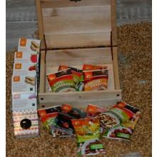 Vegan Sweets in FSC Wooden Box
