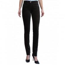 Five-pocket Velvet Trousers in Dark Brown Organic Cotton