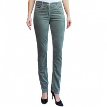 bloomers Velvet Trousers in Mint Green