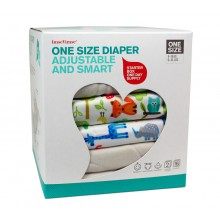 Start-up Kit of Cloth Nappies – One Size Diaper – Starter Box