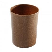 Toothbrush Mug made of Liquid Wood, brown