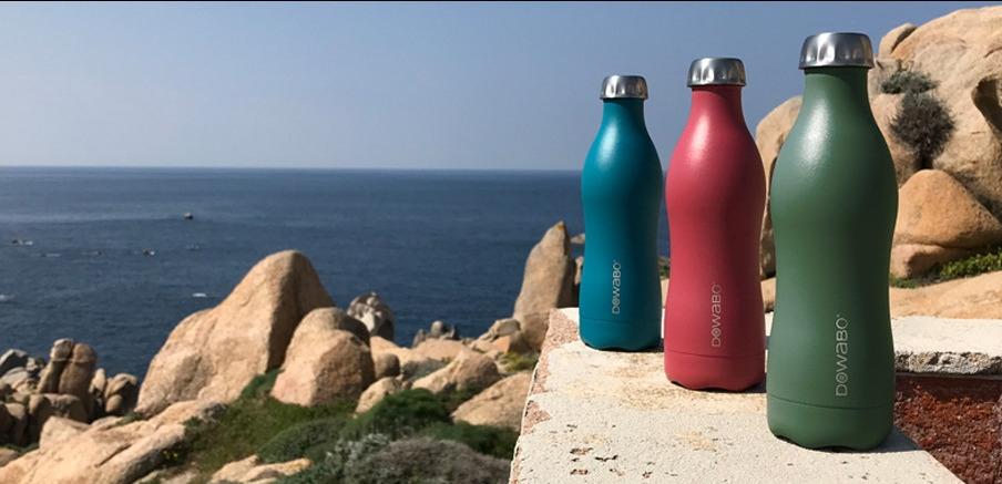 Dowabo Earth Collection botella aislada