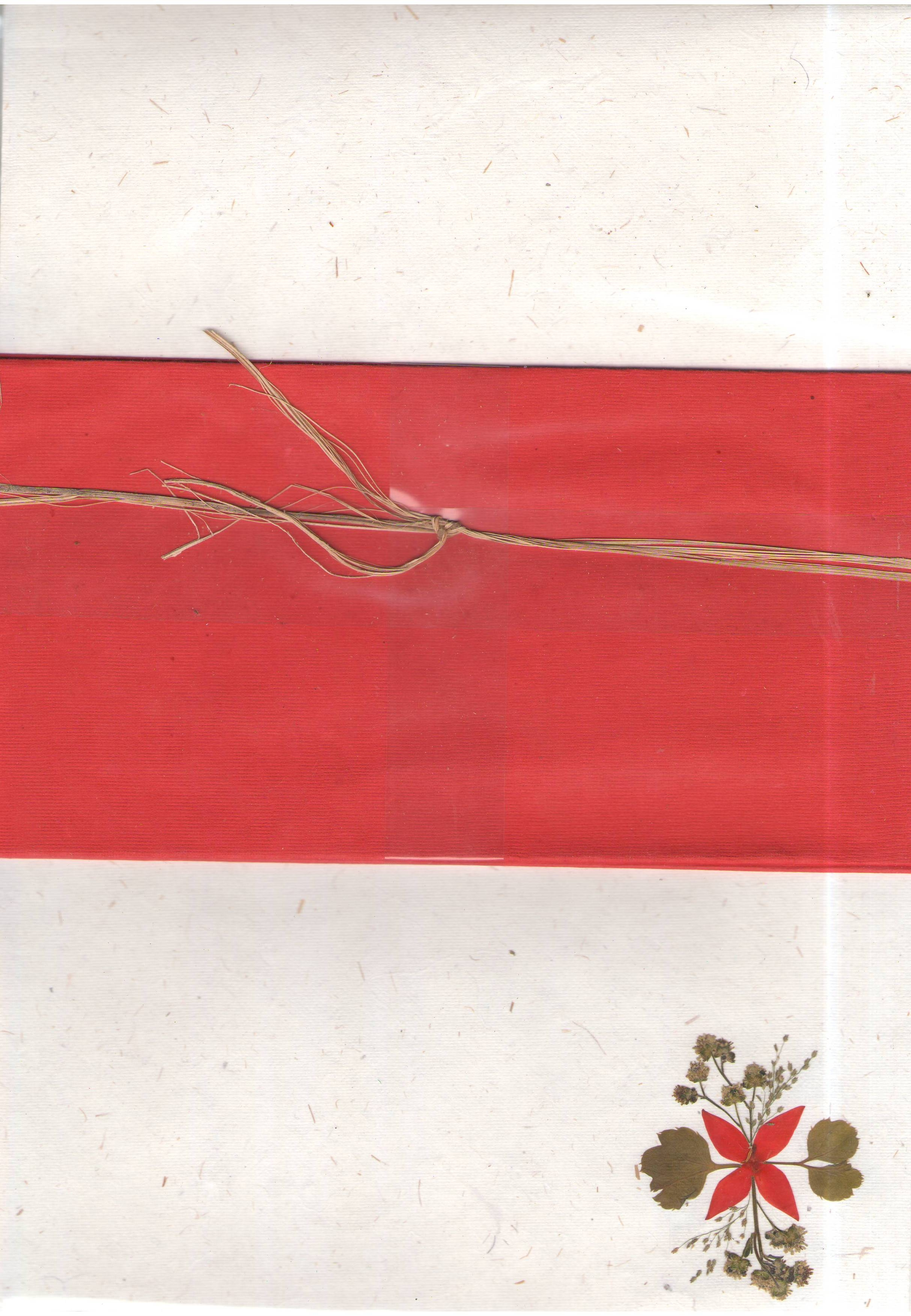 Schreibpapier-Set handgeschöpftes Briefpapier