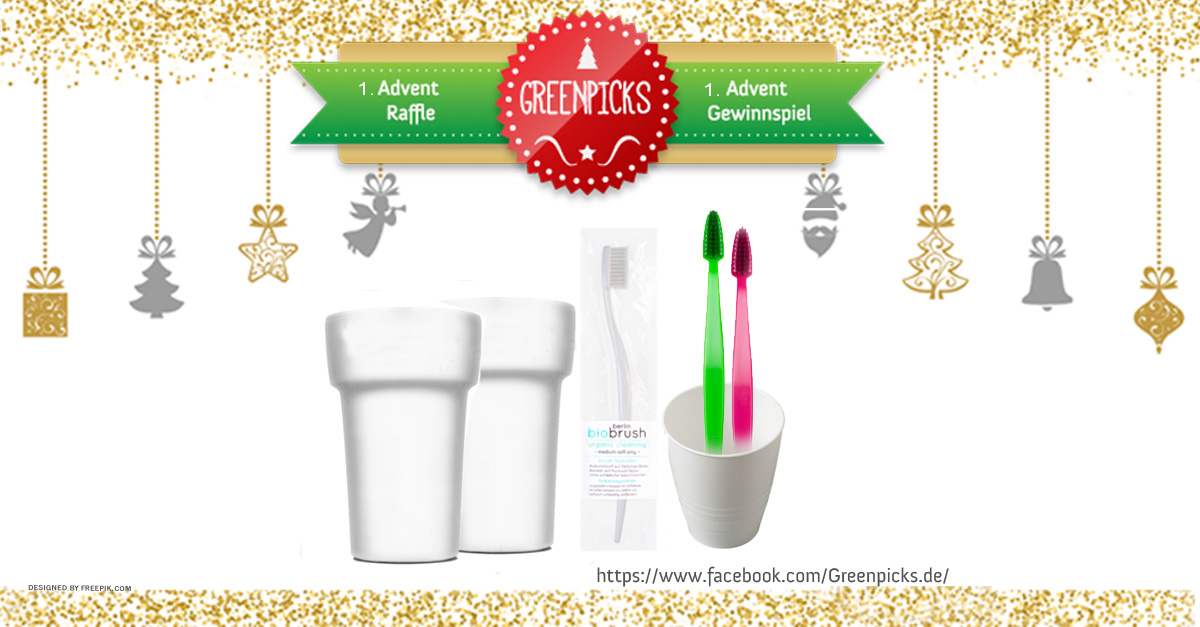 1. Advent & Santa Claus Raffle: win 3x eco toothbrush sets!