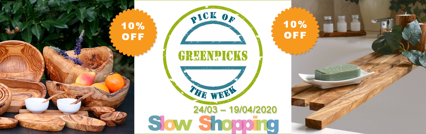 D.O.M. olive wood range - Pick of the Week
