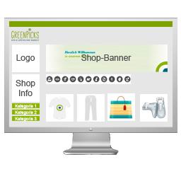 Shop einrichten