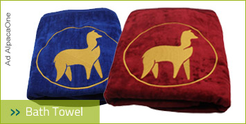 AlpacaOne Bath Towel